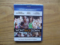 Won't Back Down (blu-ray Disc, 2013) Maggie Gyllenhaal, Holly Hunter -