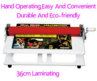 Laminating Manual Mount Machine Cold Photo Vinyl Film Laminator 089052
