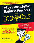 eBay PowerSeller Practices For Dummies by Marsha Collier (Paperback, 2008)