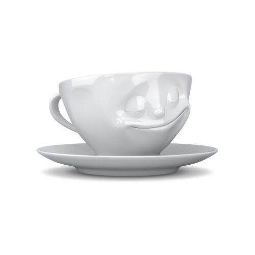Fiftyeight Lustiges 6er Tassen-Set / Alle aktuellen Design / weiß / 200 ml