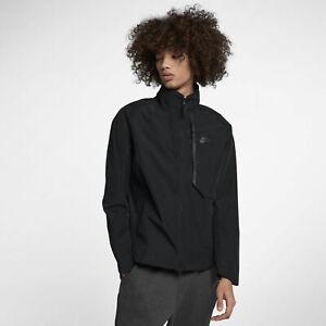 83983a1be40cc Mens Nike Sportswear Tech Shield Jacket 914082-010 Black NEW Size ...