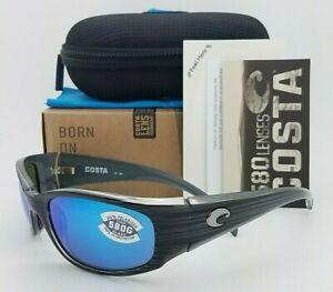NEW-Costa-Hammerhead-Sunglasses-Silver-Blue-Mirror-580G-Head-AUTHENTIC-Hammer
