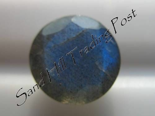 Natural 7mm Loose Round Cut 1.17ct Labradorite AAA