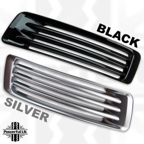 Pare-chocs avant Conduit d/'admission d/'air Vent Cover grilles pour L405 Autobiography Silver