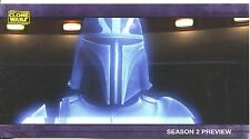 Star Wars Clone Wars Widevision S2 Sneak Preview Chase Card PV-3