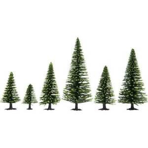 Kit-alberi-abete-rosso-50-fino-a-140-mm-noch-hobby-26825-verde-scuro-25-pz