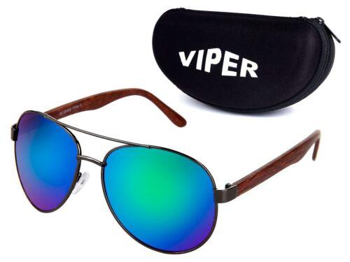Occhiali da sole occhiali-ASTUCCIO br-e06 Occhiali da pilota legno-Design Box GUSCIO LEGNO STAFFA