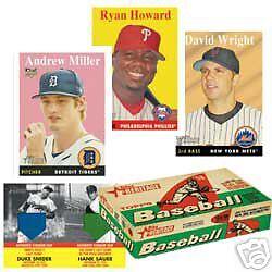 Brand New 2007 Topps Hertiage MLB Baseball Pack Sealed