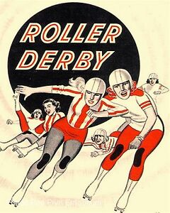 derby girl art Roller