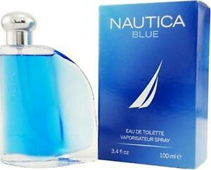 NAUTICA BLUE by Nautica 3.4 oz Cologne for Men New in Box 3412242508027