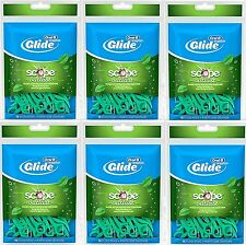 ORAL-B GLIDE SCOPE outlast floss picks 75 ct ( 6 pack ) 450 total