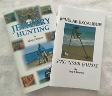 MINELAB EXCALIBUR BOOK AND JEWELRY HUNTING BOOK