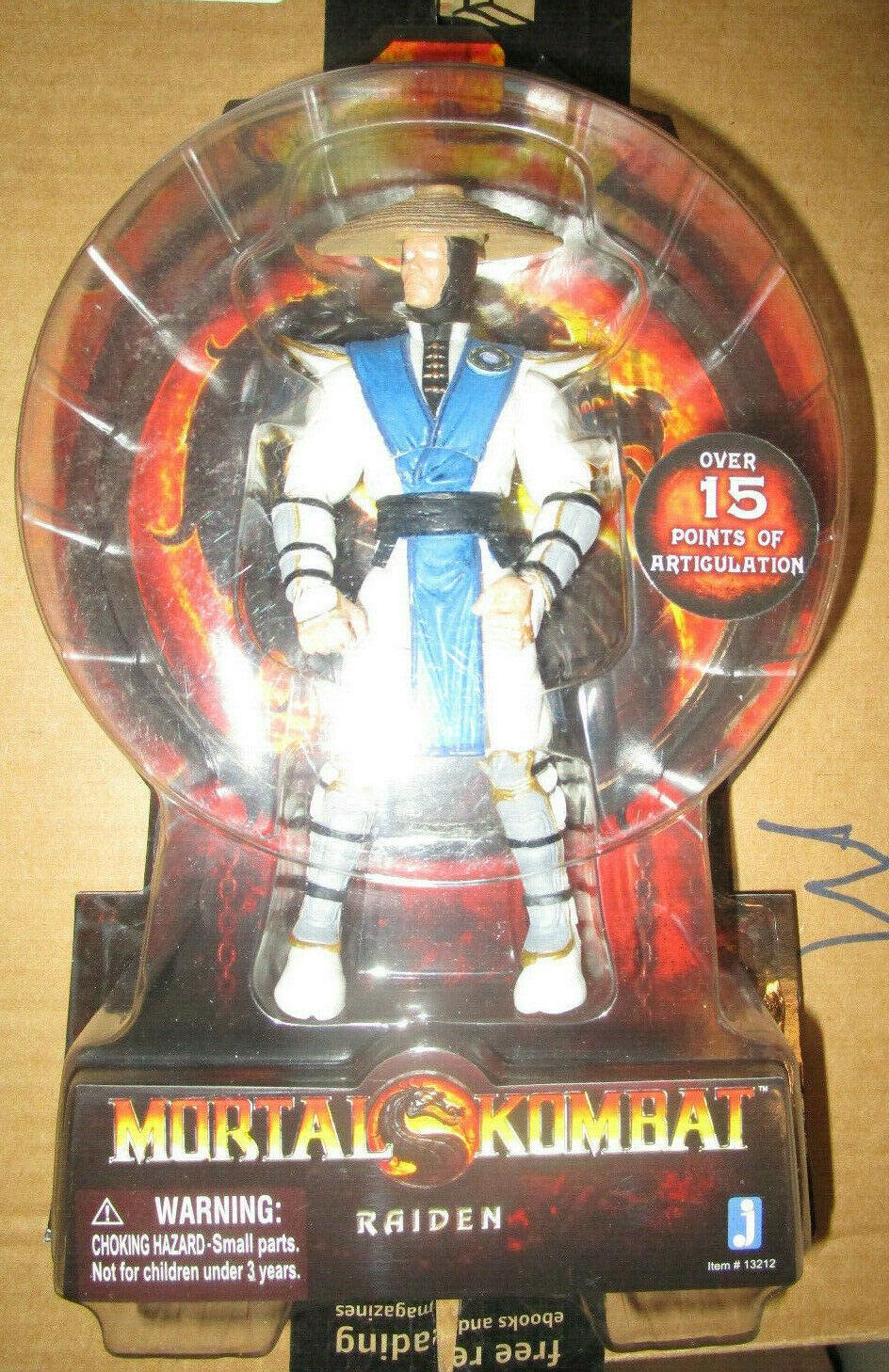 Mortal Kombat 20TH aniversario Raiden Figura Set JAZWARES 2011