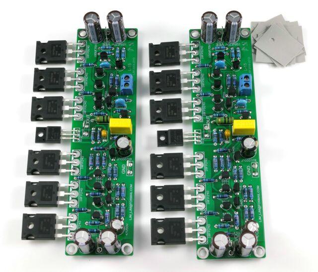 Assembled L15  MOSFET amplifier board 2-channel AMP ( IRFP240  IRFP9240)  -YD