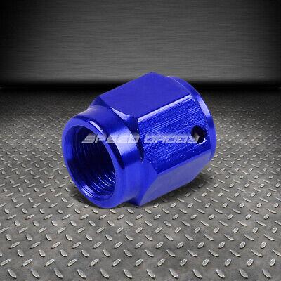 4AN AN4 Male AN4 4AN Flare Plug Fitting Aluminum AN Plug Blue