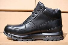 NIB-Nike ACG Air Max Goadome 2013 Men's Blackout Waterproof Boots Sz 11