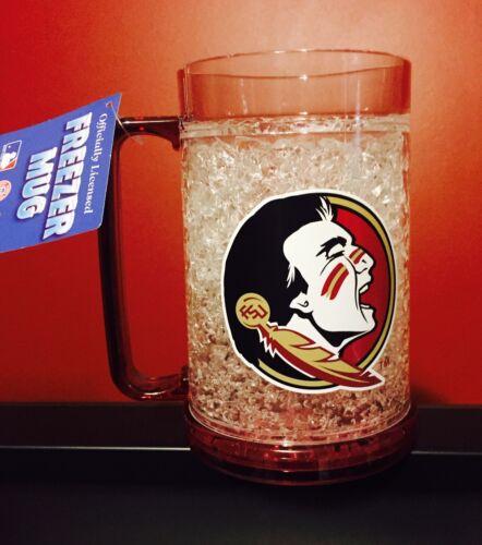 Florida State Seminoles Official Crystal Freezer 16oz Mug- NEW