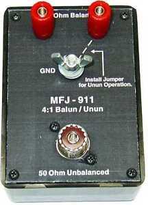 MFJ-911-4-1-Balun-UnBal-300-Watts