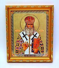 """Icon Saint luke of crimea consecrated Святой Лука Крымский конгрев 8.3x7.1x0.6"""""""