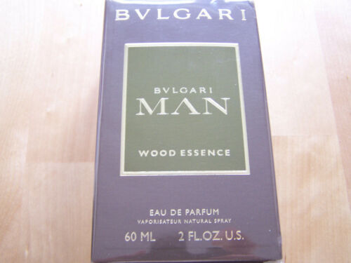 BVLGARI Man Wood Essence Eau de Parfum 60 ml. 2 Gl.OZ.U.S., neu OVP  9WTzJ Dnrkm