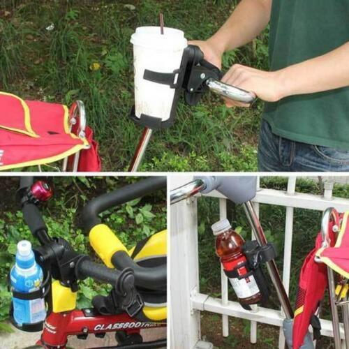 Wheelchair Baby Stroller Cup Holder Drink Bag Milk Bottle Phone Pram Buggy SU
