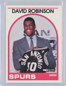 1989-90-Hoops-138-DAVID-ROBINSON-Rookie-RC-Spurs-HOF-SP