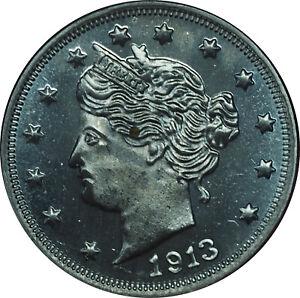1913 V Nickel Fantasy Coin