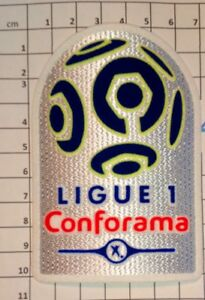 France-Patch-Badge-Conforama-Ligue-1-17-20-maillot-foot-OM-PSG-Mbappe