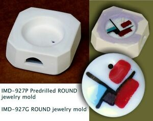 IMD-927P-PREDRILLED-JEWELRY-BLANK-ROUND-GLASS-FUSING-pod-mold