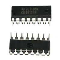 10* HCF4511BE DIP-16 HEF4511 BCD to 7-Segment Latch/Decoder/Treiber IC Neu DEhOT