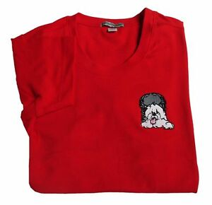 LADIES-RED-SCOOP-NECK-T-SHIRT