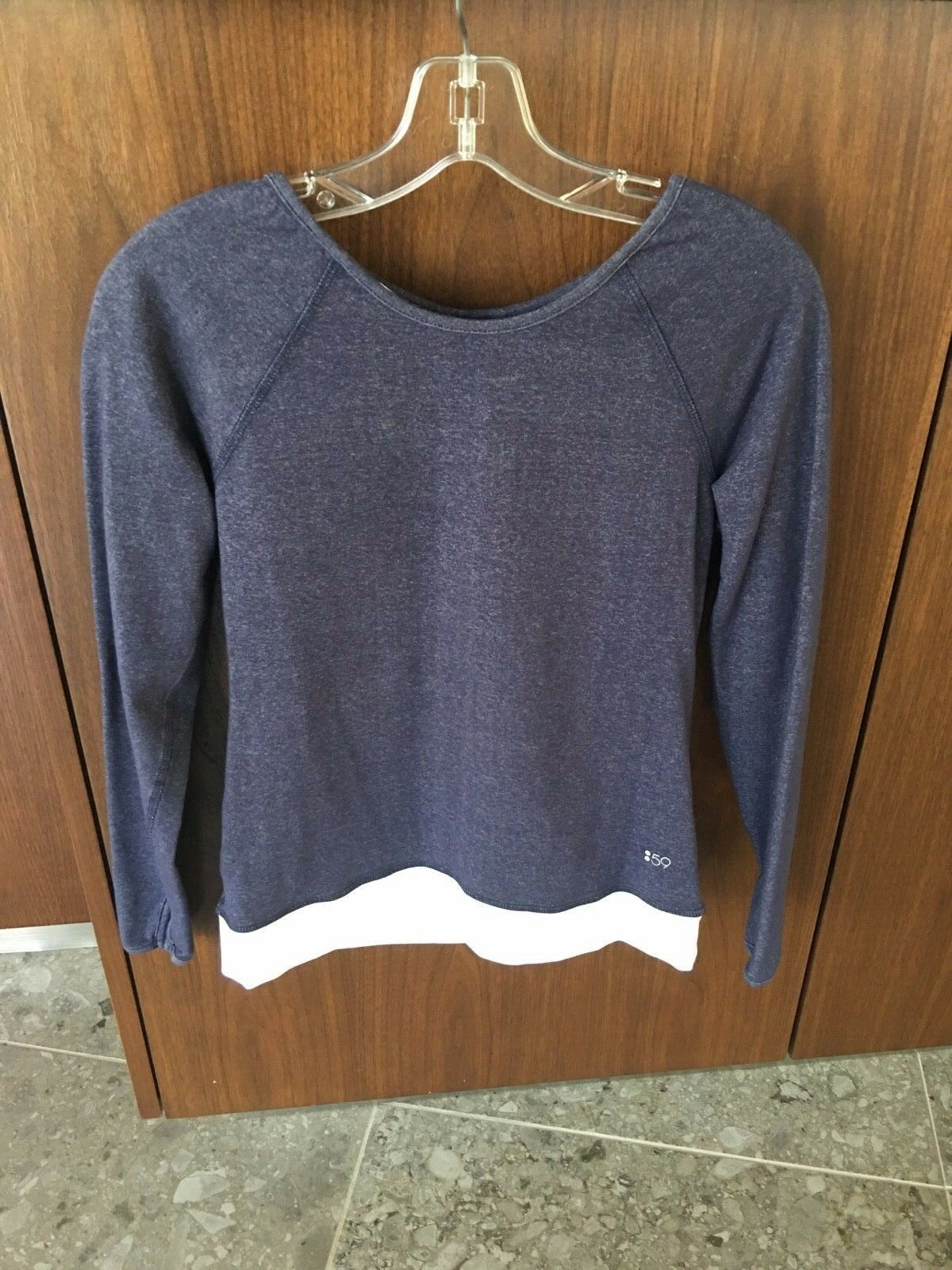 Splits Fifty Nine 59 Long Sleeve Top Size Small