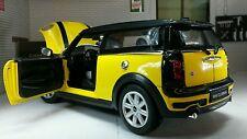 1:24 G LGB Scale New BMW Mini Clubman Cooper S D Rare Yellow 2008 Diecast Model