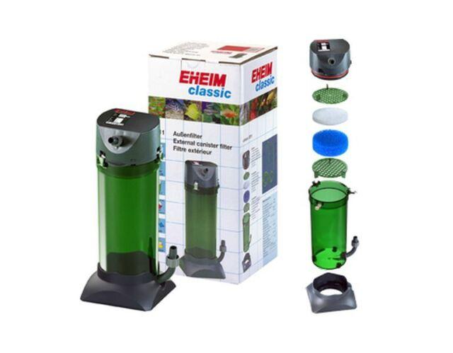 Sehr EHEIM 2215 Classic 350 Plus External Aquarium Fish Tank Filter ZU29