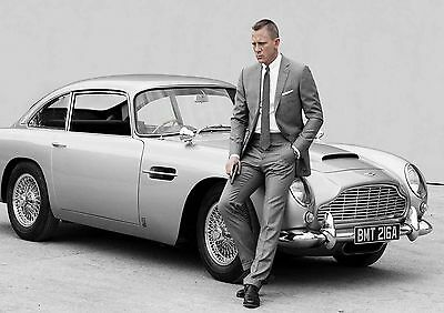 STICKERS AUTOCOLLANT TRANSPARENT POSTER A4 AFFICHE SKYFALL