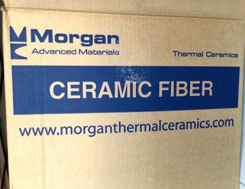 "Kaowool 1//2/""x12/""x48/"" Thermal Ceramics Fiber Insulation Blanket 8# Muffler Stove"