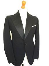 Mens Bespoke vintage  Edwardian 1920's Black Tie DJ Dinner jacket Size 38 (DJ233