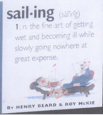 McKie, Roy, Beard, Henry, Sail-Ing (Pocket Dictionary), Very Good Book