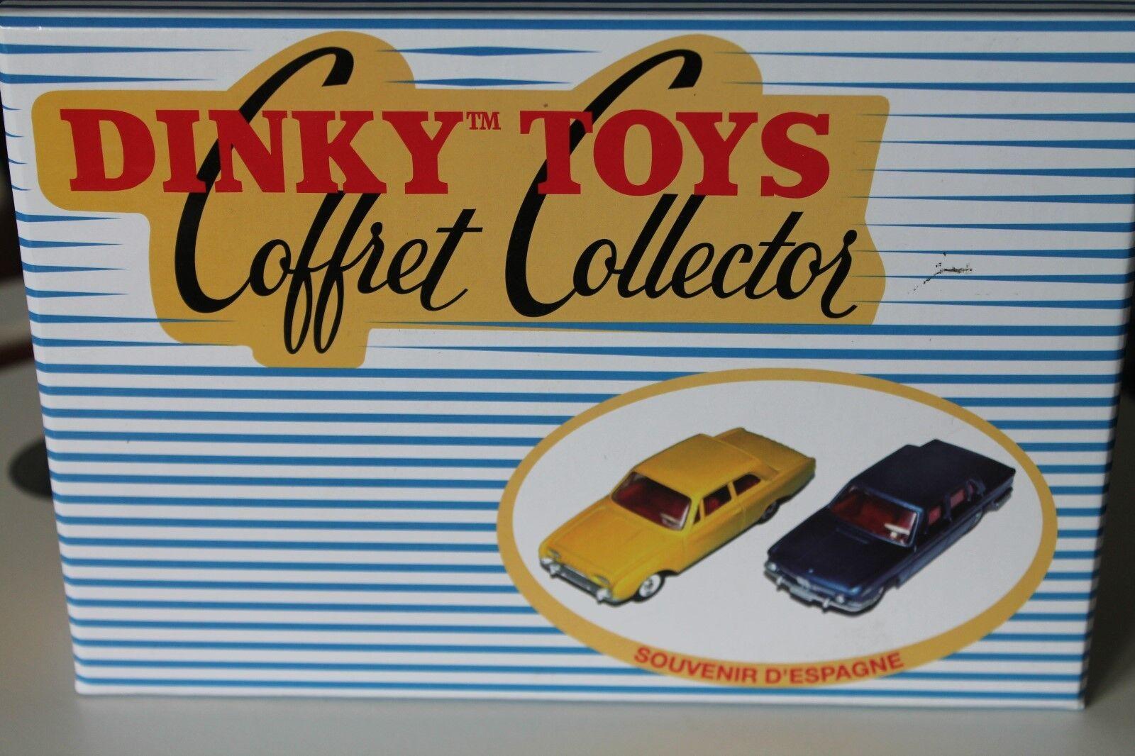 DINKY TOYS  souvenir d 'ESPAGNE  FORD TAUNUS 17 17 17 M & BMW 1500  Neuf dans sa boîte  Comme neuf | Qualité Fine  4d3042