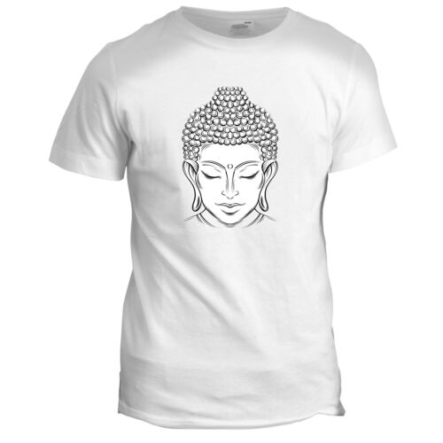 BUDDHA BUDDHIST PEACE YOGA MEDITATION BUDDHISM JAPANESE CHINESE MENS 4 T Shirt