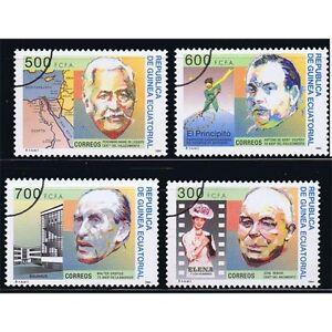 Äquatorial-guinea Edifil 192/195 JubilÄen Überlastung Der Probe Aromatischer Charakter Und Angenehmer Geschmack Briefmarken Afrika