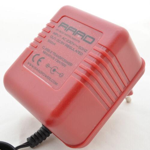 Raad Dc 9V Reguliert Netzteil Zentrum Negative ohne Spitze Adapter Gitarre Pedal