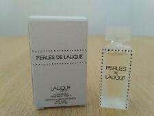 Lalique Perles for women EDP 4.5ml MINI MINIATURE PERFUME FRAGRANCE NEW