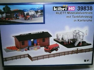 kibri walthers ho klett mineral depot facility kit nib 39838. Black Bedroom Furniture Sets. Home Design Ideas