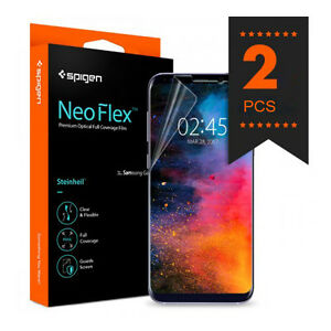 half off 2c848 99455 Details about Samsung Galaxy S8 S8 Plus Screen Protector Protection Film  Cover Spigen Neo Flex