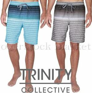 NEW MENS TRINITY COLLECTIVE VOLLEY HYBRID SWIM SHORTS W/ LINER QUICK DRY VARIETY