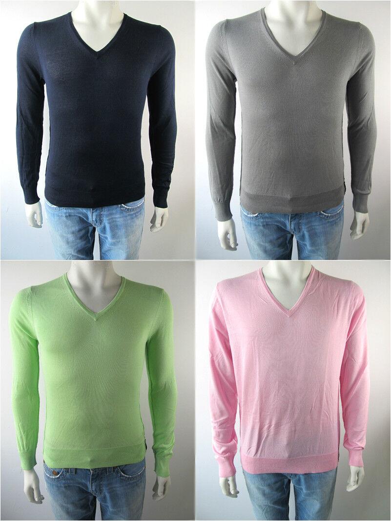 Bikkembergs Herren Pull Shirt Pullover Maglia E11K804 Neu