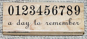 7-Gypsies-Rubber-Stamp-Numbers-0-9-A-Day-to-Remember-Date-Wedding-Birth