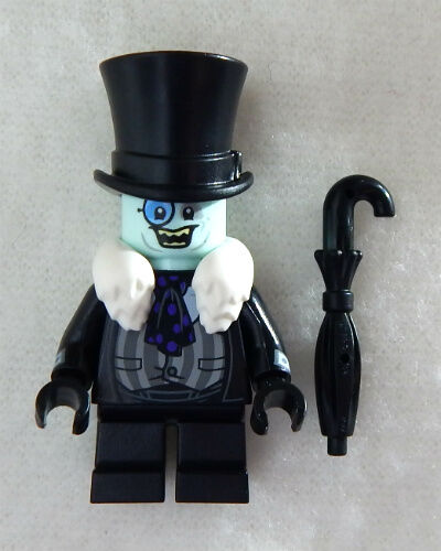 NEW LEGO BATMAN MOVIE PENGUIN MINIFIG figure 70909 batcave break-in minifigure
