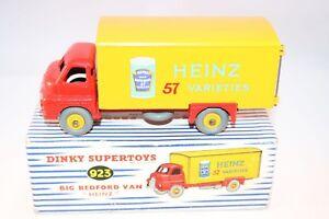 Dinky-Toys-923-Bedford-Van-034-Heinz-034-Very-very-near-mint-in-box-a-superb-model